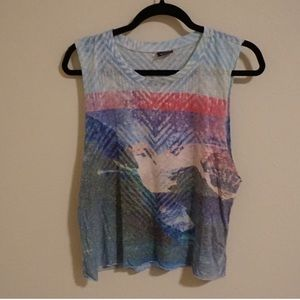 Colorful muscle tank top from urban outfitters